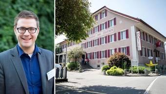 FDP-Politiker Adrian Meier ist nicht zufrieden mit den Antworten des Regierungsrats zum Thema Asylunterkunft in Menzikon