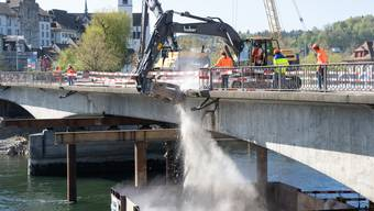 Abbruch Kettenbrücke Aarau (5)