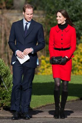 Hier haben sie studiert: Kate und William besuchen die Uni St. Andrew in Schottland