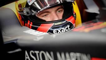 Max Verstappen im Red Bull-Renault war im ersten Training der Schnellste