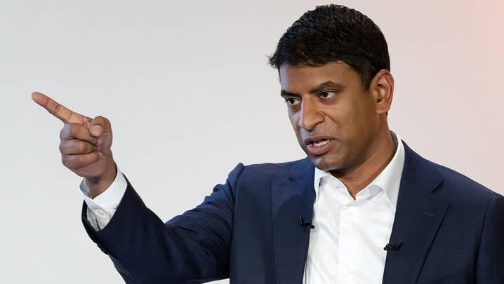 Novartis-Chef Vas Narasimhan: Der Konzern weist gute Quartalszahlen aus.