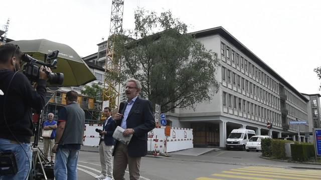 Journalisten belagern Unispital