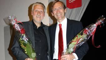 Die Solothurner SP nominiert Peter Gomm und Peter Bühlmann für die Regierungsratswahlen