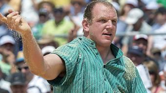 Am 29. Mai wird Bruno Gisler seinen ersten Wettkampf nach der Dopingsperre bestreiten.