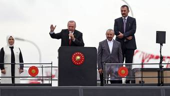 Mursi wurde ermordet: Das behauptet der türkische Präsident Recep Tayyip Erdogan an einem Wahlkampfanlass in Istanbul.