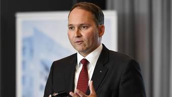 """Viele Schweizer Chefs sind für ein Rahmenabkommen mit der EU. """"Wir brauchen Planungssicherheit"""", sagt Ypsomed-CEO Simon Michel. (Archivbild)"""