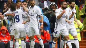 Real Madrid gewinnt gegen Valencia erst nach einem späten Tor