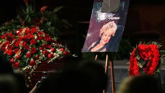 Trauerfeier für Etta James in Gardena