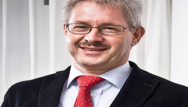 Kurt Schmid, Präsident des Aargausichen Gewerbeverbandes