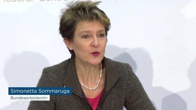 Sommaruga warnt vor Durchsetzungsinitiative