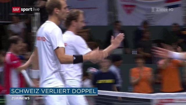 Tennis: Abstiegsduell geht in die zweite Runde