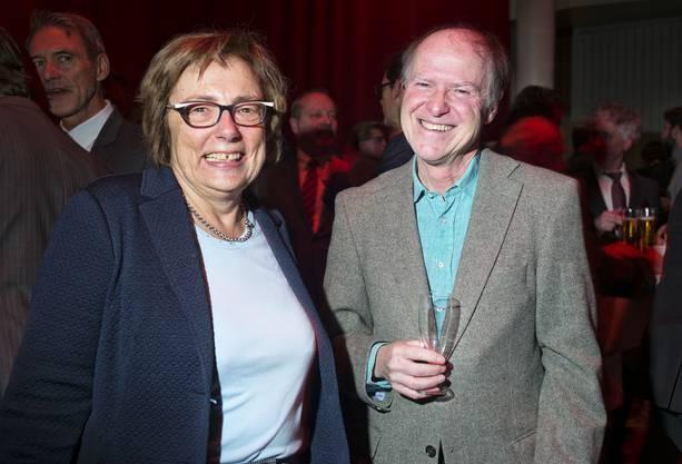 Annemarie Pfeifer, EVP-Grossrätin und Christoph Wydler, Präsident Neutraler Quartierverein Neubad