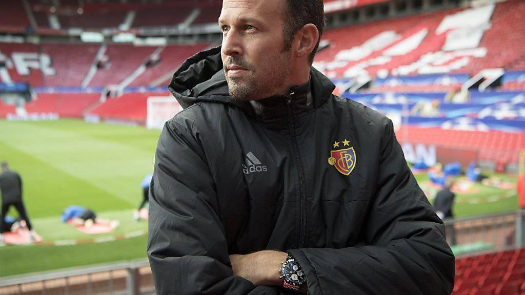 Sportchef Marco Streller war nach dem Vorstoss des FC Basel in den Achtelfinal der Champions League gerührt und euphorisch