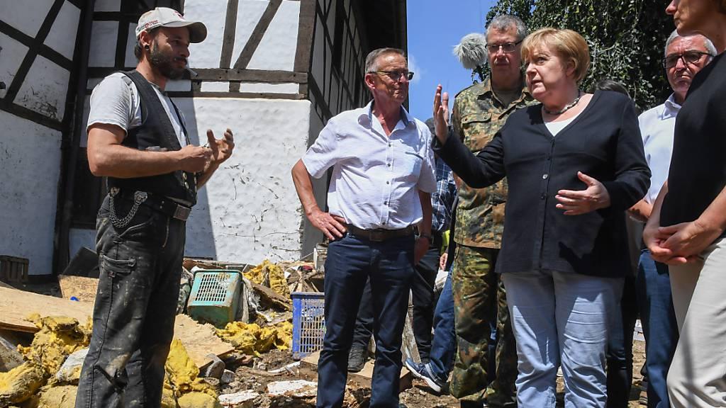 Merkel: Politik muss «das Klima mehr in Betracht ziehen»