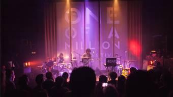 Vier Badener Bands spielen gemeinsam am Festival One Of A Million.