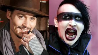 Johnny Depp und Marilyn Manson machen gemeinsame Sache
