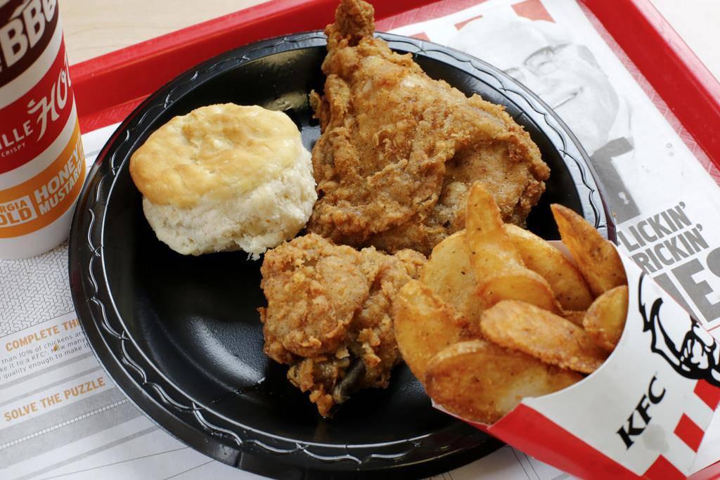 Poulet von KFC (© Keystone)
