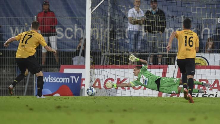 Der FC Aarau legt in der Schaffhauser Breite einen enttäuschenden Auftritt hin.