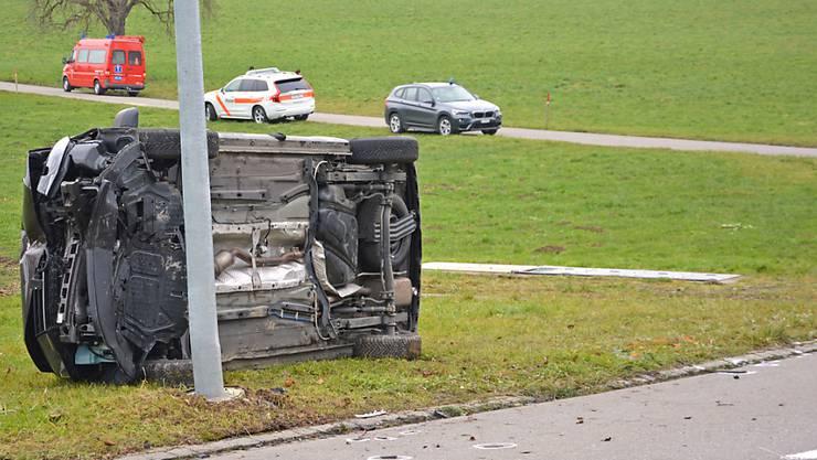 In Ellighausen TG starb ein 15-jähriger Velofahrer nach dem Zusammenstoss mit einem Auto.