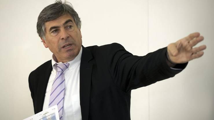 Erziehungsdirektor Christoph Eymann ist gegen eine Sprachquote in Basler Schulklassen.