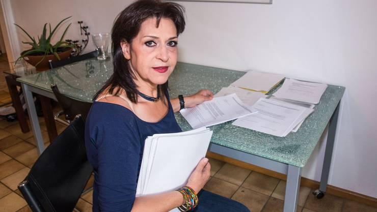 «Es wurde auf entwürdigende, unmenschliche Art auf mich eingehämmert»: Farideh Eghbali, Ex-Betreuerin des Reinacher Asylheims.