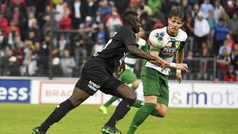 Challenge League, 10. Runde: SC Kriens - FC Aarau (05.10.2019)