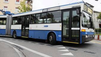 Die Busse konnten wegen dem Rohrbruch auf zwei Linien nicht mehr verkehren. (Archiv)