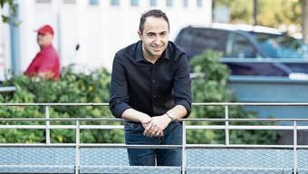 Mehmet Isik, hier im Reinacher Zentrum, ist auf dem fünften Listenplatz der SP Kulm.