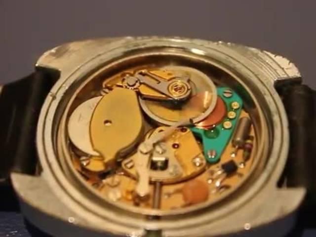 So funktioniert ein elektromechanisches Uhrwerk Kaliber 9150 Dynotron
