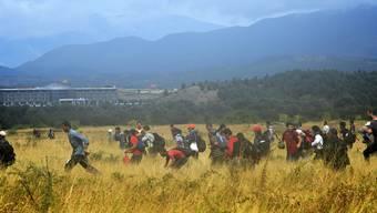 Flüchtlingsdrama an Mazedoniens Grenze