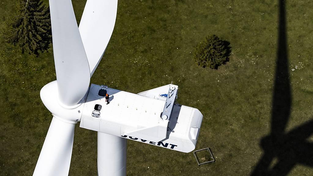 Das Thema Windenergie führt in Hitzkirch immer wieder zu Diskussionen. (Symbolbild)