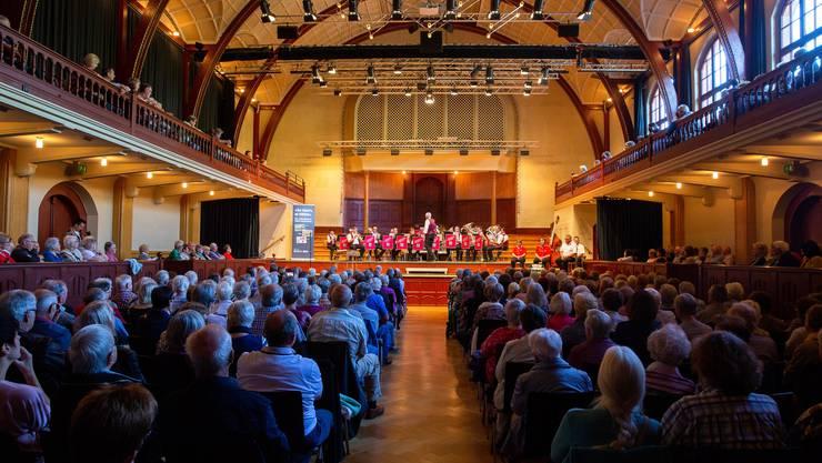 «So tönts ar HESO»: Impressionen aus dem Konzertsaal