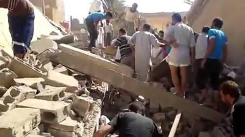 Die Stadt Deir Ezzor gleicht einem Trümmerfeld.
