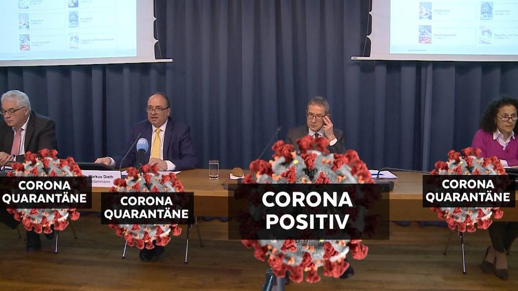 Coronavirus zwingt Aargauer Regierung in Quarantäne