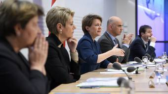 So schlagen sich die sieben Bundesräte in der Coronakrise
