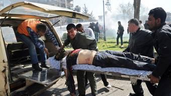 Bei der Anschlagsserie vom Donnerstag wurden auch 250 Zivilisten verletzt