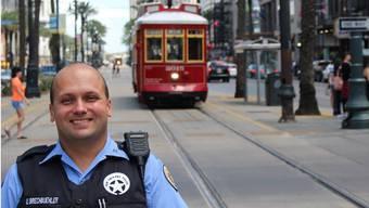 Ehemaliger Zofinger Regionalpolizist patrouilliert jetzt in New Orleans