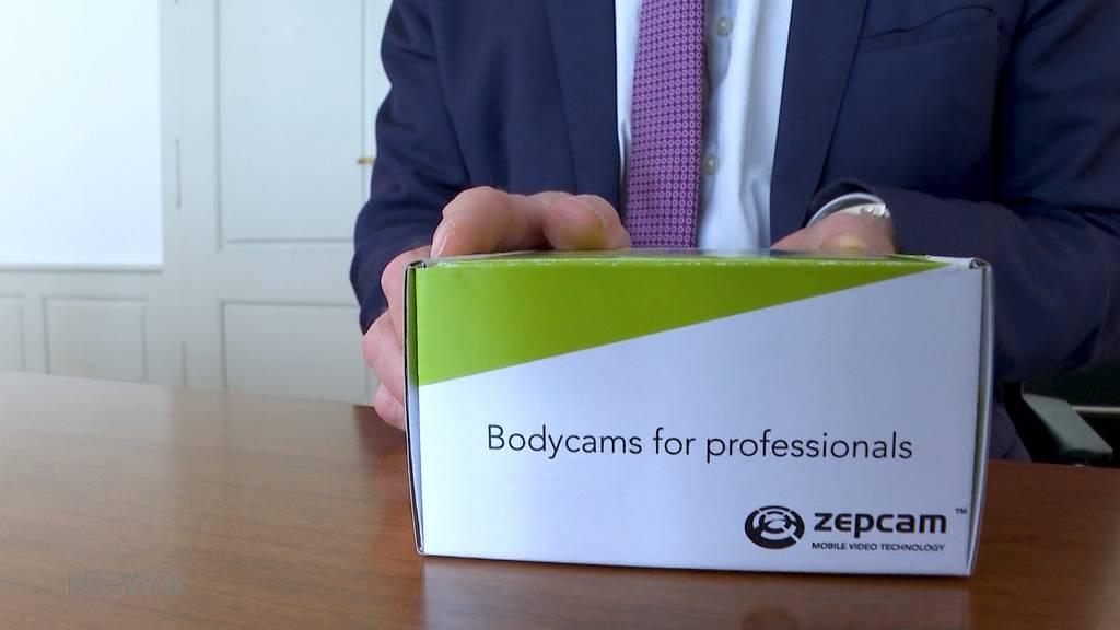 Umstrittene Bodycams: Ab Juni setzt die Kapo Bern 32 Kameras ein