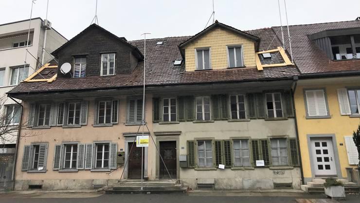 Verlottert: Die Zeit dieser beiden Häuser in der Aavorstadt ist vorbei.