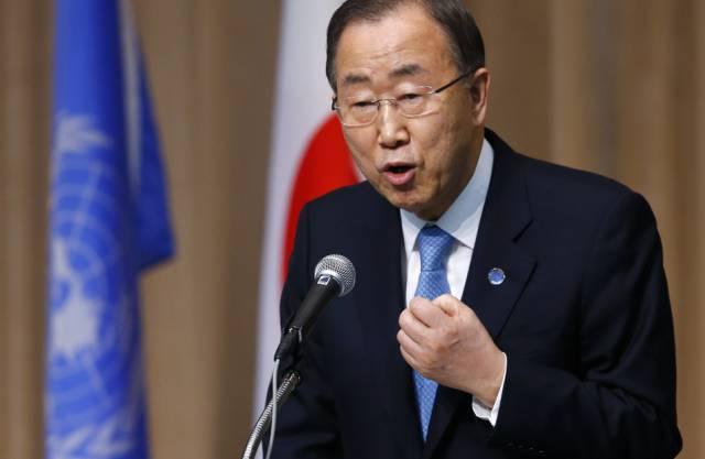 Seit 2007: Ban-Ki Moon