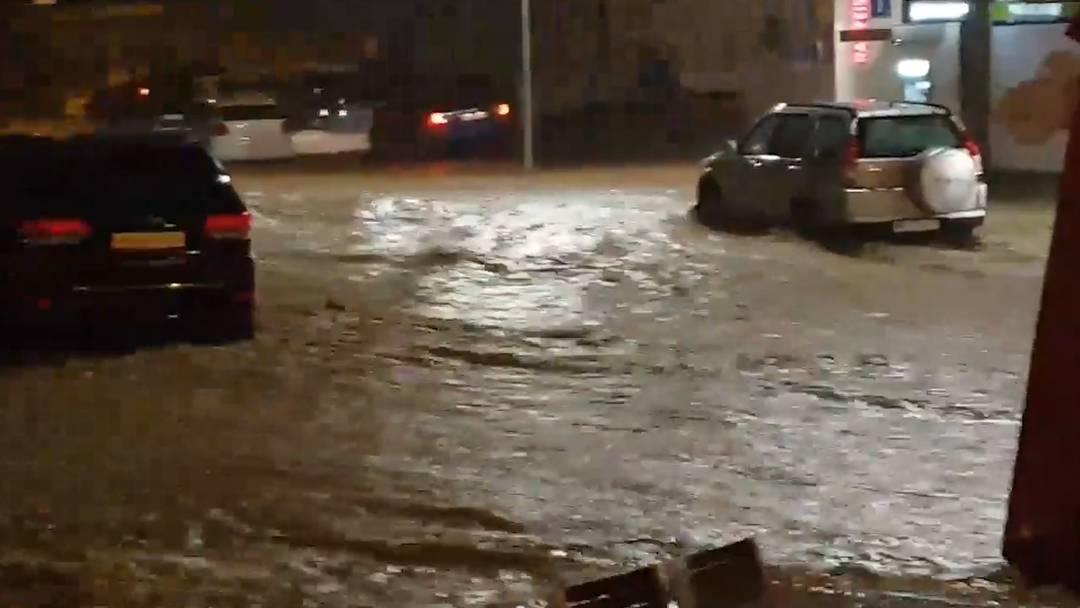 Val-de-Ruz (NE): Grosse Schäden und Verletzte nach Unwetter