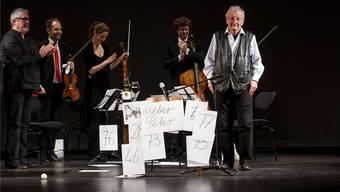 Feier zum 80. Geburtstag von Peter Bichsel im Stadttheater Solothurn