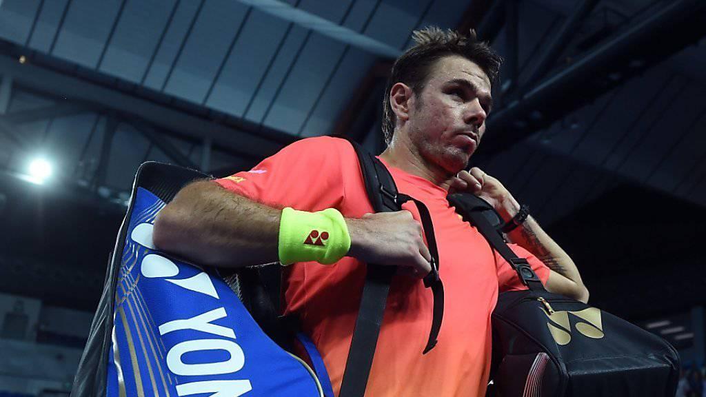 Stan Wawrinka, Turniersieger 2014 und Halbfinalist 2015, befindet sich in Melbourne wieder auf dem Durchmarsch.
