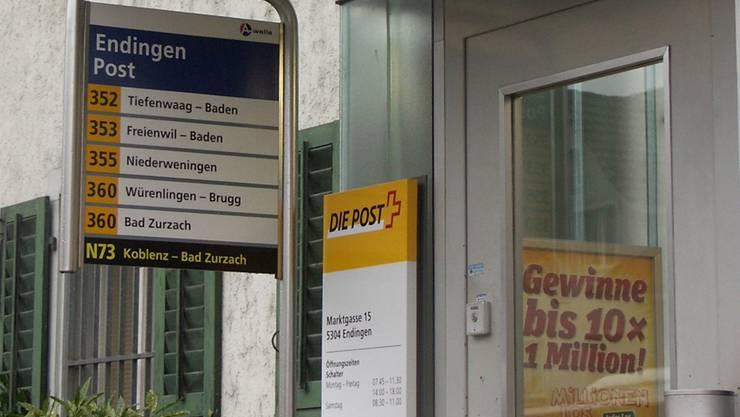 Seit 1890 befindet sich die Post in Endingen an der Marktgasse 15.