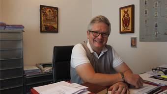 Pfarrer Johannes Siebenmann glaubt daran, dass eine Zukunft mit ihm möglich ist. Andere glauben das nicht. Thomas Wehrli