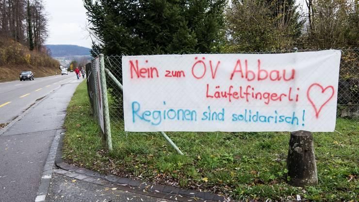 Solidarität bekundet: Zumindest einige Laufentaler haben ein grosses Herz für das Läufelfingerli. Wie viele es sind, wird sich am 26. November zeigen.