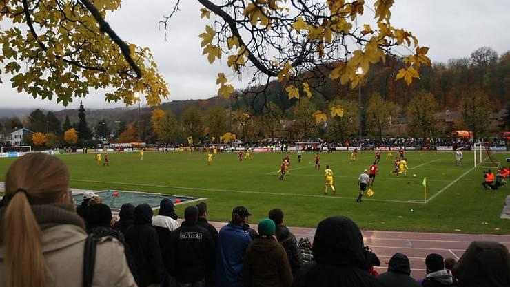 Schauplatz des U15-Turniers: der Sportplatz Margelacker in Muttenz (Archivbild).