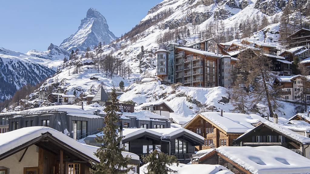 Im Januar spürte die Schweizer Hotellerie noch nichts vom Coronavirus. (Symbolbild)
