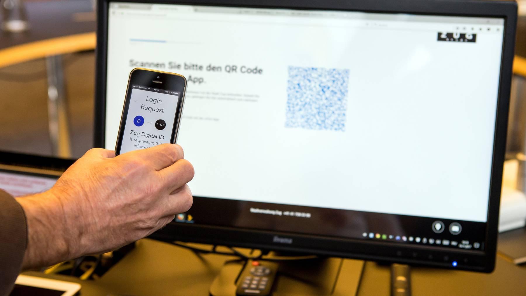 Staatliche Dienstleistungen über private Internet-Identität: Nur eine Minderheit hat Bedenken wegen dem Datenschutz. (Symbolbild)