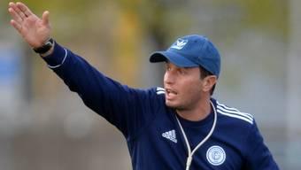 Edvaldo Della Casa liess sich beim FC Grenchen auch von den turbulenten Entwicklungen nicht beirren.